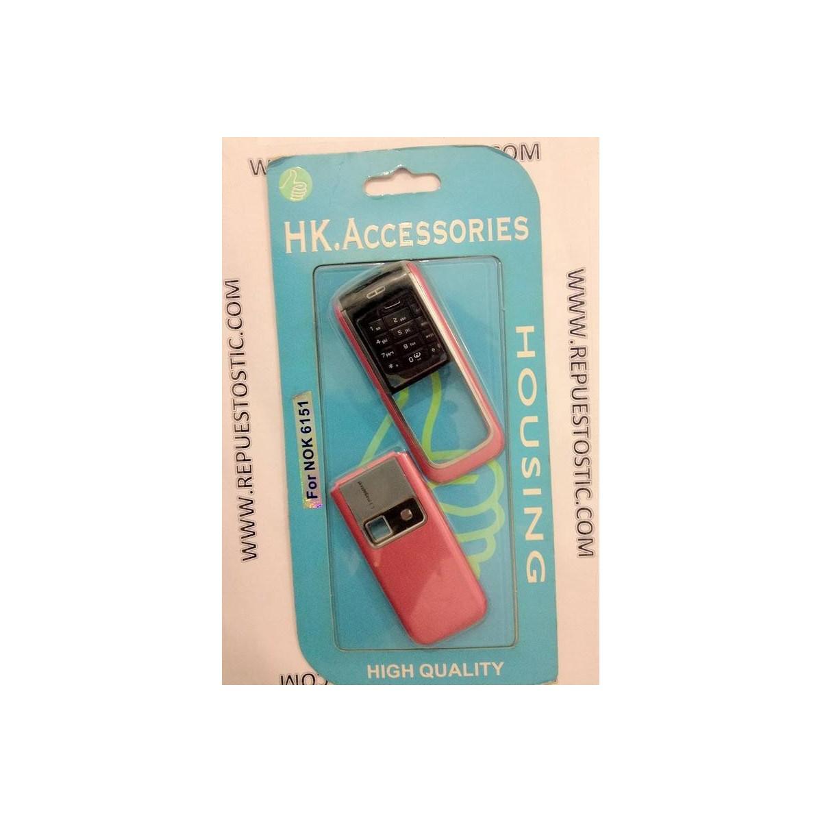 Carcasa Nokia 6151 Rosa