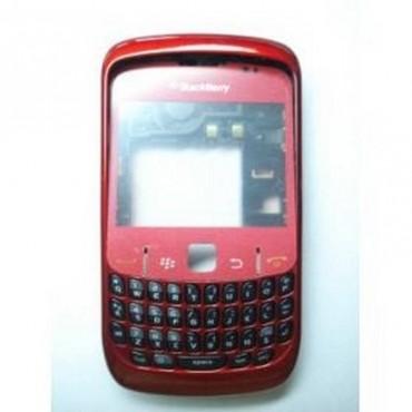 carcaça completa Blackberry 8520 Roja