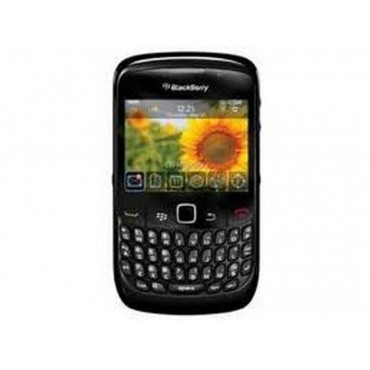 Blackberry 8520, carcasa negra