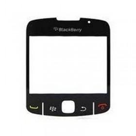 Lente, Ventana da Carcaça de Blackberry 8520 Curve PRETO