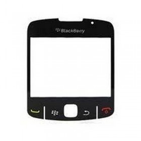 Lente, Ventana de la Carcasa de Blackberry 8520 Curve NEGRO