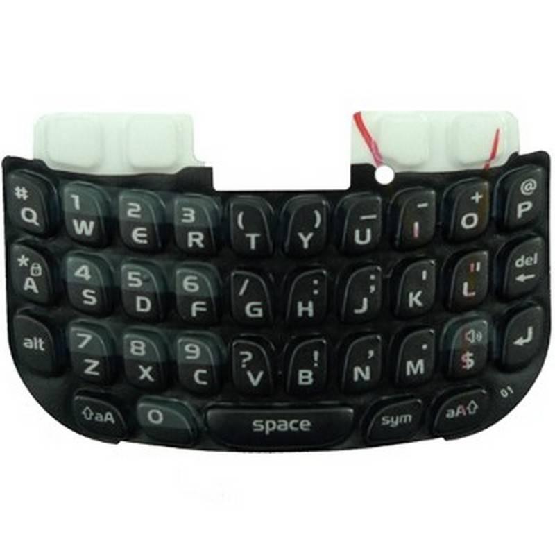 Teclado preto para BlackBerry 8520 Curve