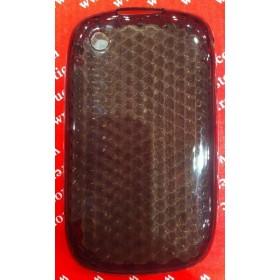 Funda Silicona BlackBerry 8520/9300 Gris oscuro