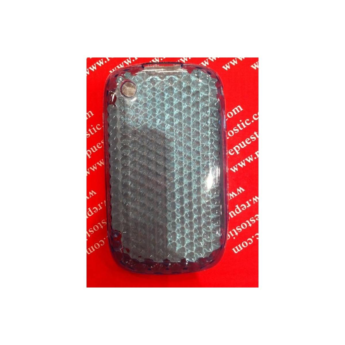 Funda Silicona BlackBerry 8520/9300 TRANSPARENTE