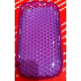 Funda Silicona BlackBerry 8520/9300 MORADO