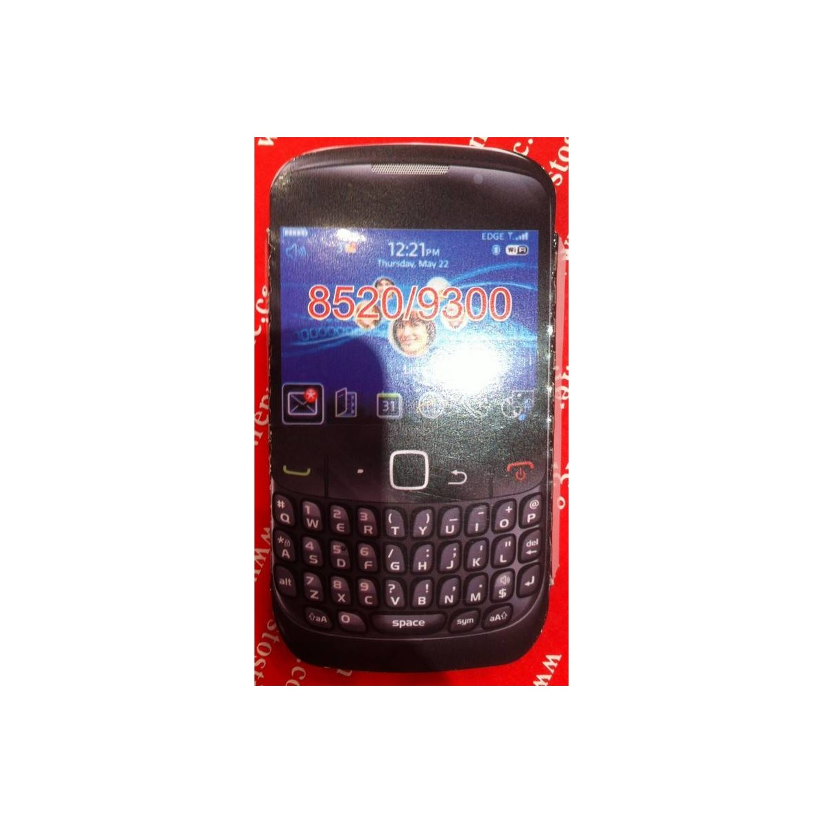 Funda Silicona BlackBerry 8520/9300 VERDE