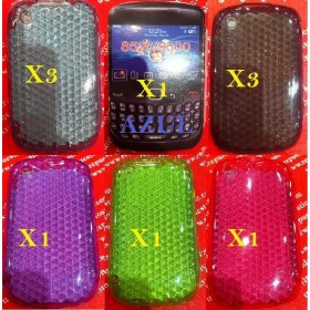 PACK 10 Fundas Silicona BlackBerry 8520/9300 VARIOS corES