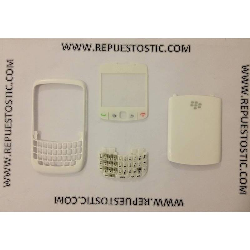 Carcasa BlackBerry 8520 Blanco