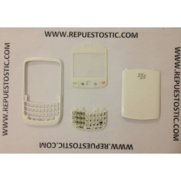 Carcasa BlackBerry 8520 Blanco