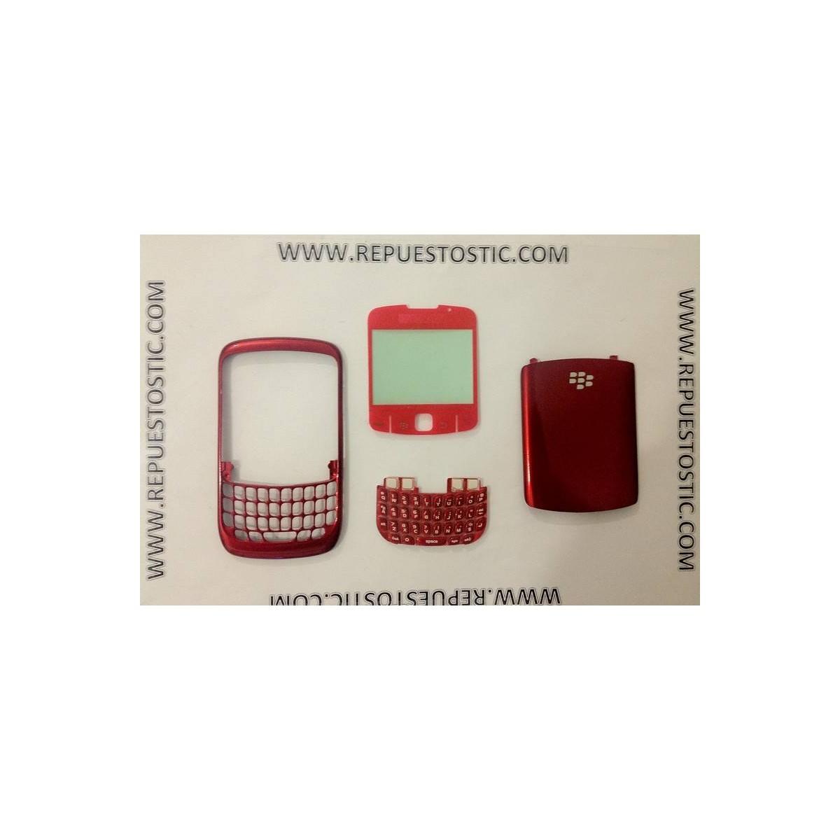 Carcasa BlackBerry 8520 Roja
