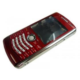 Carcasa BlackBerry 8120, 8130 Roja Completa