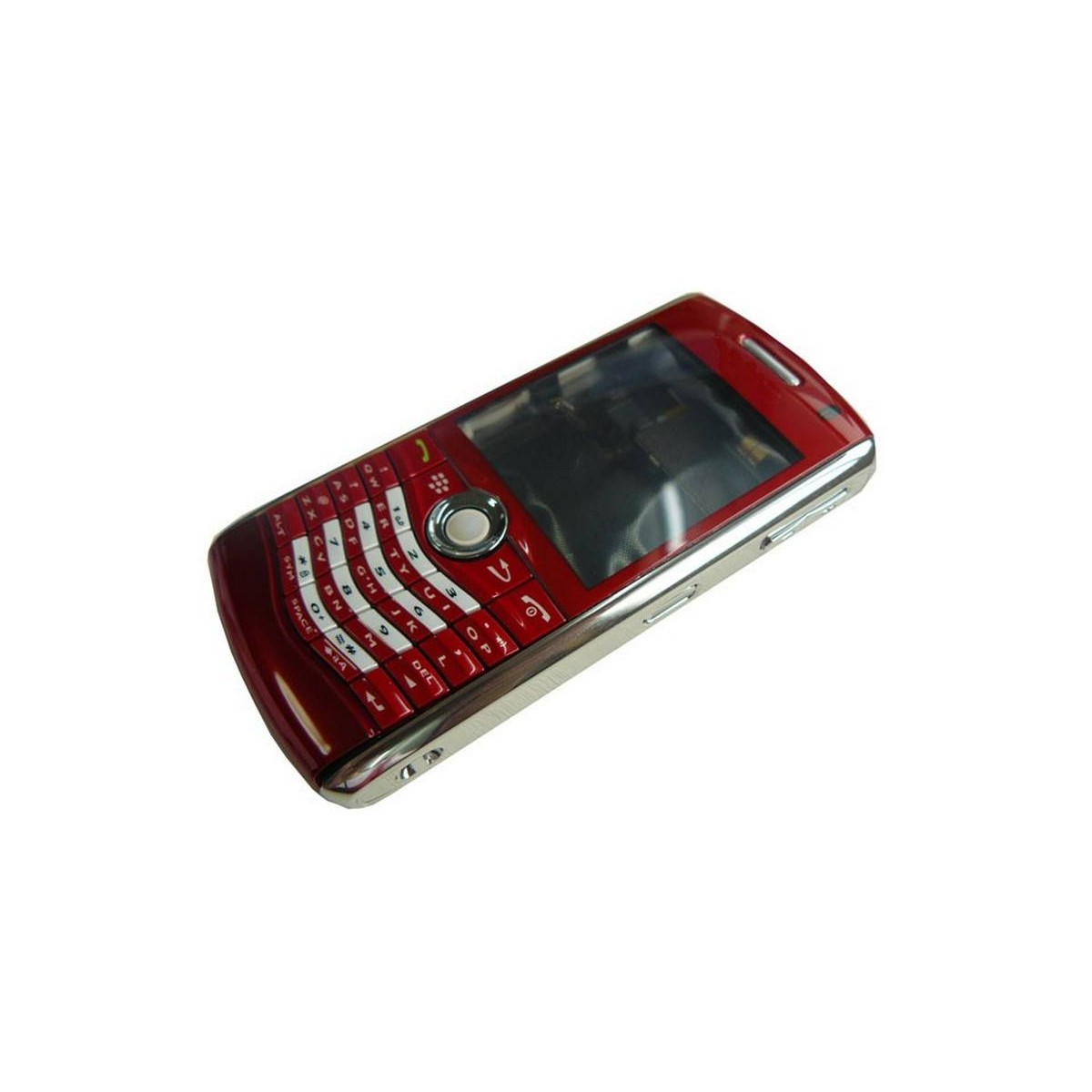 Carcaça BlackBerry 8120, 8130 Roja Completa