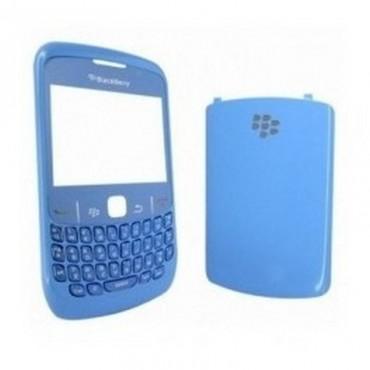 Carcasa BlackBerry 8520 azul cielo