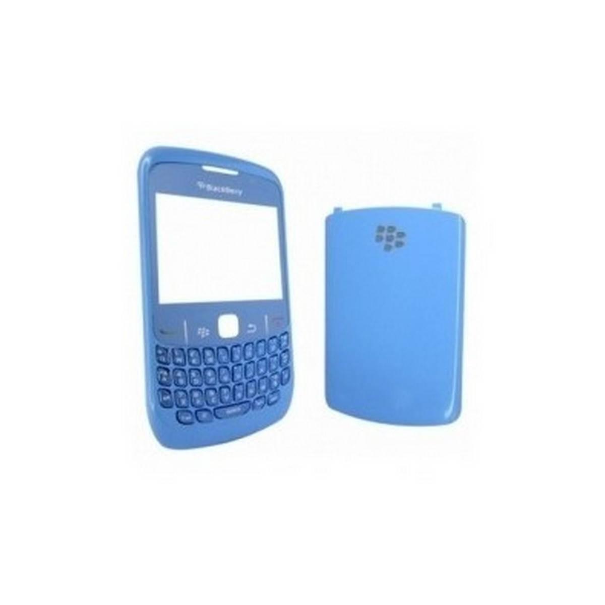 Carcaça BlackBerry 8520 azul cielo