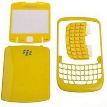 carcasa blackberry 8520 Color Amarillo
