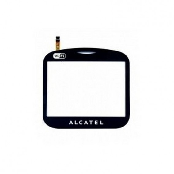 Pantalla táctil negra para Alcatel OT 803, 813