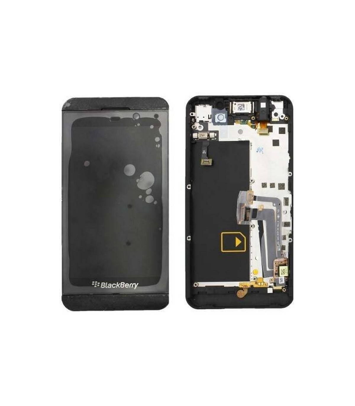 PANTALLA COMPLETA CON MARCO BLANCO PARA BLACKBERRY Z10 GSM