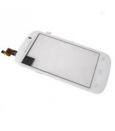 Pantalla Tactil Alcatel One Touch POP C3 OT4033 blanca