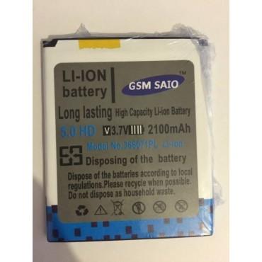 Bateria BQ 5 aquaris 3.7v -- 2100mAh,