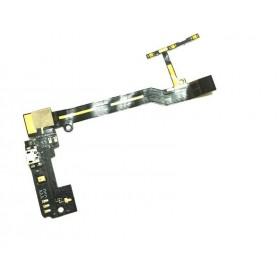 Flex con conector de carga y acesorios y micrófono para BQ Aquaris E5 4G E5S