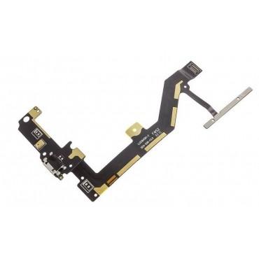 Flex con conector de carga y accesorios y micrófono y botonera para BQ Aquaris A4.5 ORIGINAL