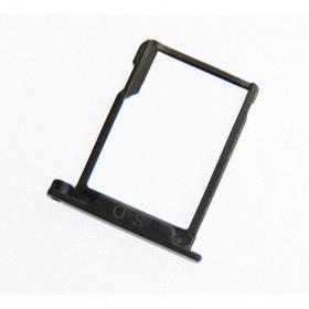Porta tarjeta SD Bq Aquaris E5 4G Original Negro.