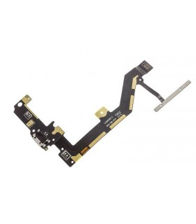 Flex con conector de carga y accesorios y micrófono y botonera para BQ Aquaris M4.5 ORIGINAL