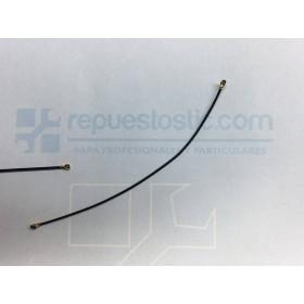 Cable de antena coaxial Original de 9 cm para BQ Aquaris X5