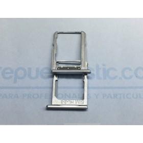 Porta SIM (plateada ) para Bq X5 ORIGINAL