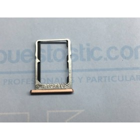 Porta SIM (Rosa Dorado ) para Bq X5 ORIGINAL