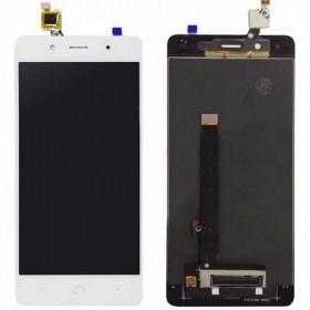 Pantalla completa (LCD + táctil) blanca para BQ Aquaris X5 Plus