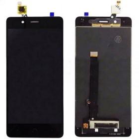 Pantalla completa (LCD + táctil) negra para BQ Aquaris X5 Plus