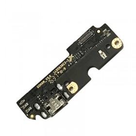 Placa auxiliar inferior con conector de carga y micrófono para BQ Aquaris X5 Plus ORIGINAL