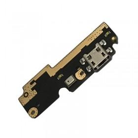 Placa auxiliar inferior com conetor de carrega e micrófono para BQ Aquaris X5 Plus ORIGINAL