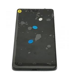 ecrã completa com marco Bq Aquaris E5 4G.E5 4G Lite preta