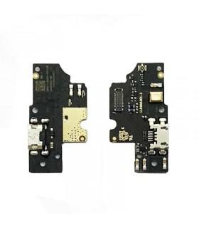 Placa auxiliar inferior con conector micro USB y micrófono para BQ Aquaris V/U2/U2 Lite/U2 LATAM ORIGINAL