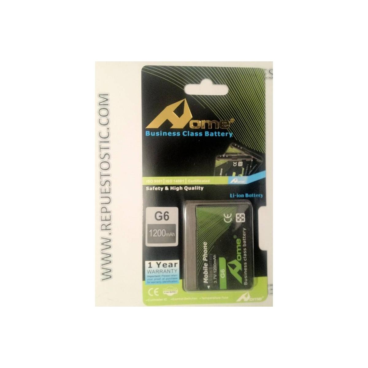 Bateria para HTC G6
