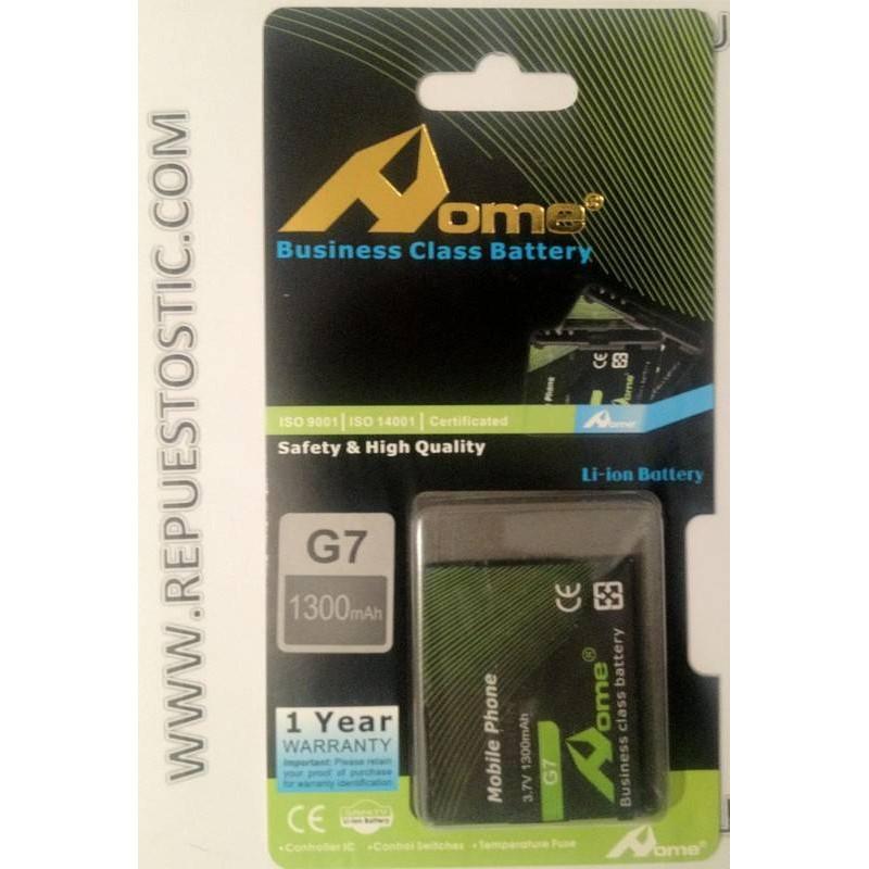 Bateria para HTC G7