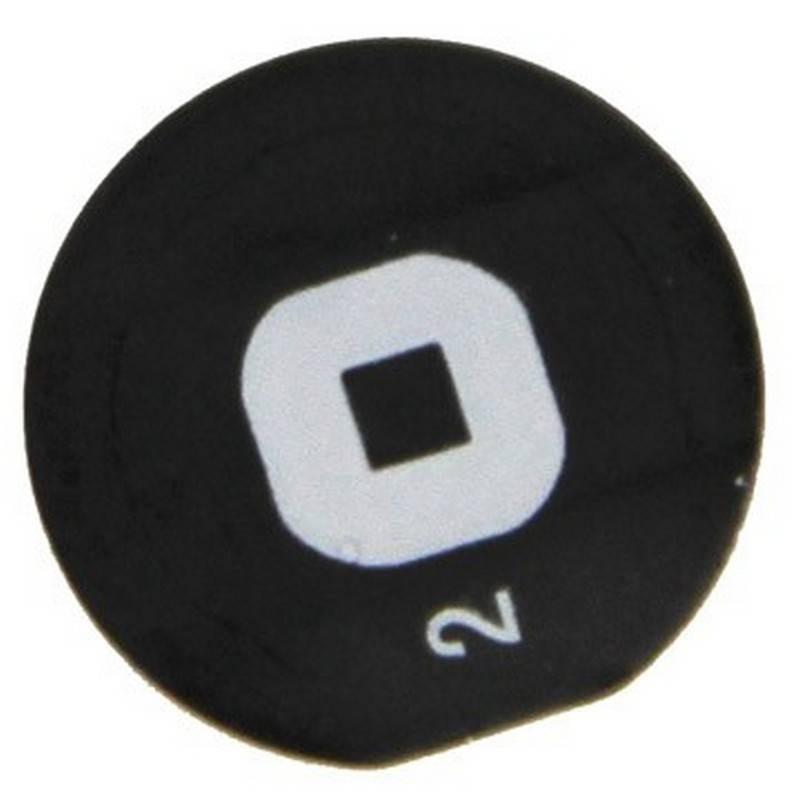 Boton home ORIGINAL Negro de iPad 2