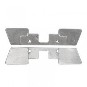 soporte para placa boton home ipad 2
