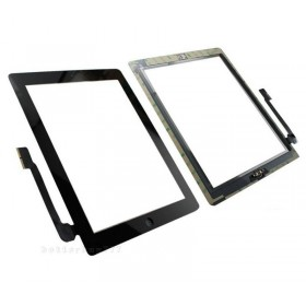 Pantalla táctil Apple iPad 3, iPad 4 negra