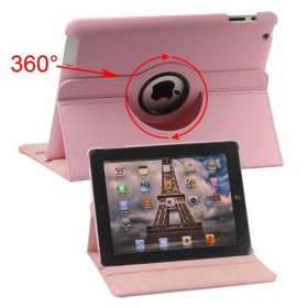 Funda Giratoria 360º iPad 3 iPad 4 iPad 2 Rosa chicle