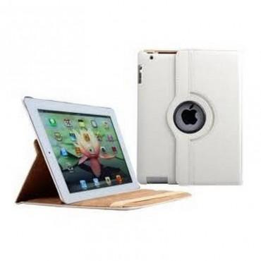 Funda Giratoria 360º iPad 3 iPad 4 iPad 2 blanca