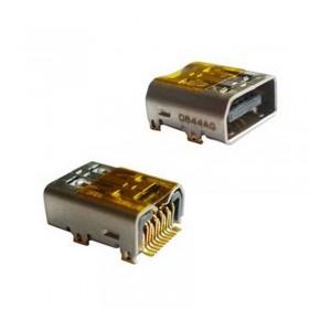 conetor de carrega de datos usb puerto conetor para htc hd/pro