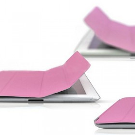 FUNDA PLEGABLE IPAD 3 ROSA