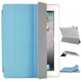 FUNDA PLEGABLE iPad 3 azul