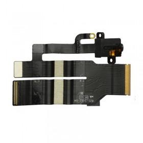 Cable flex con conector de auriculares Jack negro para Apple iPad4 4G