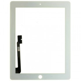 pantalla tactil con boton home iPad 4 blanco