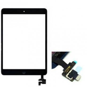 Tactil iPad mini / iPad mini 2 preto com conetor ic