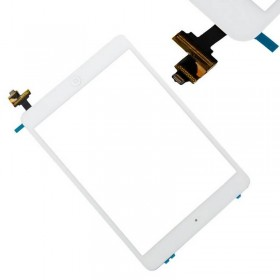 tactil iPad mini / iPad mini 2 branco com conetor ic